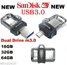 32GB SANDISK ULTRA DUAL DRIVE M3.0 OTG PEN DRIVE !!! NEW LAUNCHED !!!