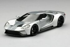 Ford GT Silver Chicago Auto Show Model Car in 1:43 Scale by TSM