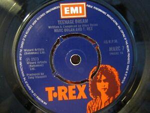 "T.REX...TEENAGE DREAM....1973.....VG+ CON..7"" SINGLE"