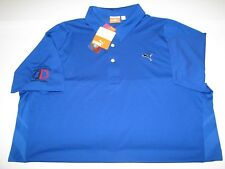 Puma Duo-Swing Mesh Polo Golf Shirt sz L, Large, Double Deuce Invitational
