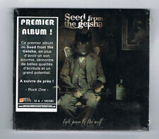 SEED FROM THE GEISHA - TALK PEACE TO THE WOLF - 9 TRACKS - 2011 - NEUF NEW NEU