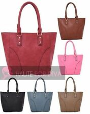 Markenlose Damentaschen aus Leder mit Reißverschluss