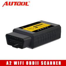 AUTOOL A2 V1.5 WiFi OBD2 Code Reader Scanner Diagnostic Tool Better than ELM327