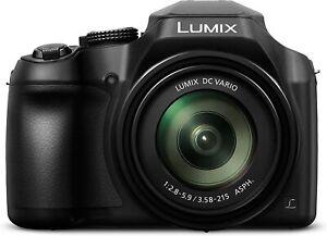 Panasonic Lumix FZ82 Bridge Zoom 60x 20-1200mm Garanzia Fowa 4 anni