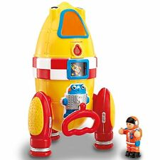 WOW Toys Ronnie Rocket Baby / Toddler / Child Space Playset - 1.5 To 5 Years