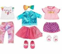 "My Life Jojo Siwa  9 Piece Clothing Shoes Fashion Set For 18"" Doll New"