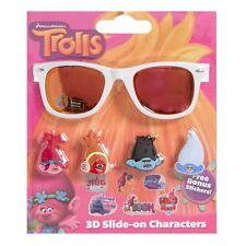 Trolls Sunglasses with Stickers Poppy Branch Dj Suki Creek Dreamworks