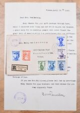 Mayfairstamps Austria 1949 Costumes Censored Cover & Letter to Rockford Il Usa w