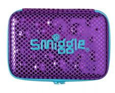 Smiggle Funk Metallic Double Hardtop Pencil Case - Blue/Purple - Cute Gift