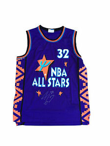 Shaquille O'neal Signed (1995 All Star) Swingman Jersey JSA