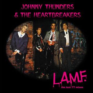 Johnny Thunders & the Heartbreakers 'L.A.M.F. lost '77 mixes' vinyl LP REMASTER