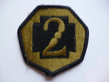 SUBDUED US ARMY PATCH 2ND MEDICAL BRIGADE???