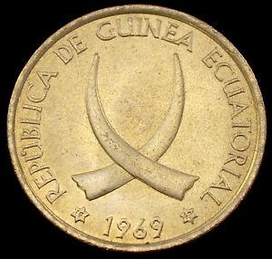 Equatorial Guinea 1 Peseta 1969 (GLIU-004D)
