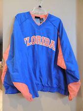 Team Starter University of Florida Gator's NCAA Pullover Orange Blue XL Football
