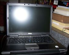 Two DELL Latitude D620  2gb ram 80GB HD Win 7 fingerprint scan laptop battery