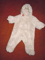 Baby Outdoor-Plüsch-Overall v.SERGANT MAJOR, wattiert, Jerseyfutter - 3 Mon.