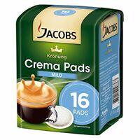 Jacobs Krönung Crema Pads Mild 16er