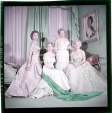 1954 Eva Zsa Zsa Gabor Family MILTON GREENE Transparency Copr/Avail 251A