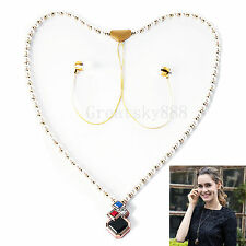 Women's Necklace Wireless Stereo Bluetooth Headset For Apple iPhone 6 Plus 6S SE