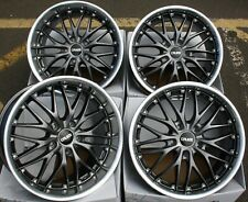 "18"" GM 190 ALLOY WHEELS FIT MAZDA RX7 RX8 5X114 ONLY"