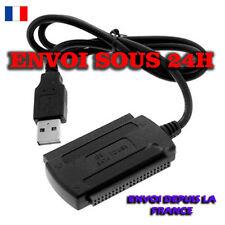 Câble Adaptateur IDE SATA 3.5 2.5 USB 2.0 1.1 PC DISQUE DUR HDD GRAVEUR NEW