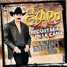 Recostada en La Cama y Muchos Exitos Mas by El Chapo de Sinaloa CD Still Sealed