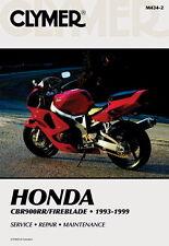 HONDA CBR900 CBR900RR Fireblade 1993-1999 Clymer MANUALE M4342 NUOVO
