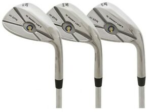 52/56/60 Degree Wedges by Qi Smart Loft - Great Feel and Spin *RRP £59.99*