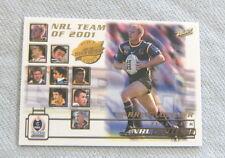 2002 RUGBY LEAGUE CARD - TY1  DARREN LOCKYER, BRISBANE BRONCOS