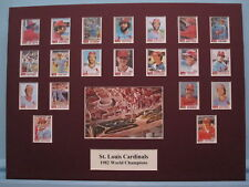 St. Louis Cardinals led by Ozzie Smith & Bruce Sutter - 1982 World Series Champs