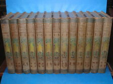 1914 ~THE REAL AMERICA  IN ROMANCE ~ 13 VOLUME SET