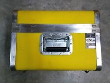 Vintage Platt Yellow Hardshell Camera, Instrument, Travel Case/Luggage with Foam