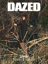 DAZED & CONFUSED Magazine Lorde Tink Hari Nef Julia Cumming Crystal Moselle NEW