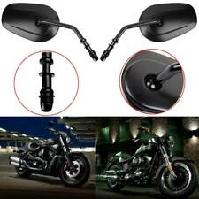 Motorcycle Black Rearview Side Mirrors for Harley-Davidson Dyna Street Bob FXDB