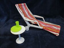 1963 - Barbie - vintage Go Together Furniture - chaise lounge , side table etc