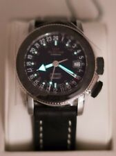 GLYCINE Airman 18 Sphair 3928.191.LB9B SWISS AUTOMATIC 39mm 24h GMT PILOT WATCH