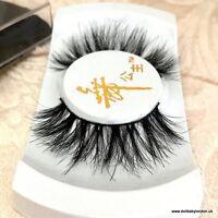 100% Miami Mink Eyelashes Wispy 3D Lash Wispie Mykonos Strip False Fake Lashes