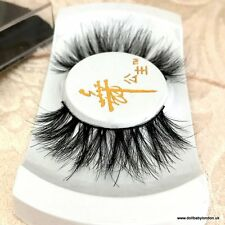 'SANTORINI' 100% Mink Eyelashes Wispy 3D Lash Wispie Strip False Fake Lashes