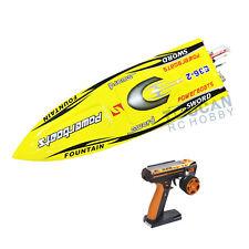 DT E36 Sword Electric RC Speed Racing Boat 80km/h 120A ESC FiberGlass RTR Yellow