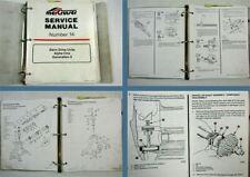Mercruiser Sterndrive Units Alpha One Gen. 2 Service Manual 1990