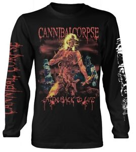 Cannibal Corpse 'Eaten Back To Life' LS Shirt - NEW & OFFICIAL!