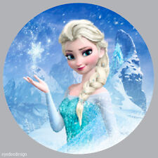 70x Round Frozen Elsa Stickers Non Personalised Party Thank You Seals - 238