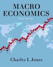 Macroeconomics by Charles I Jones 9780393923902 (Microfilm, 2013)