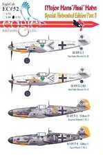 EagleCals Decals 1/32 Bf-109 MAJOR HANS ASSI HAHN Special Airbrushed Set Part 3