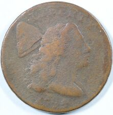 1794 1c Flowing Hair Liberty Cap Large Cent UNSLABBED