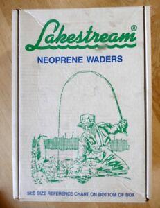 Hodgman Lakestream Neoprene Waders Size Large
