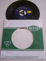 "RECORD 7 "" 45 T VINYL JUKE BOX , THE NASHVILLE TEENS , TOBACCO ROAD , DECCA"