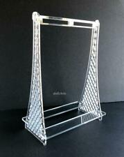 "Clear Acrylic Clothes Rack Barbie Convention Exclusive for 12"" FR Doll Clothing"