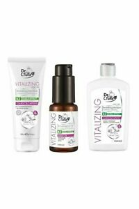 Vitalizing Garlic & Capixyl Hair Care Set, Shampoo-Mask-Oil