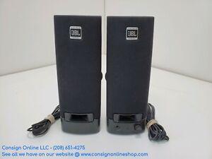 JBL Platinum Series Black Wired Pair of Computer Speakers S115
